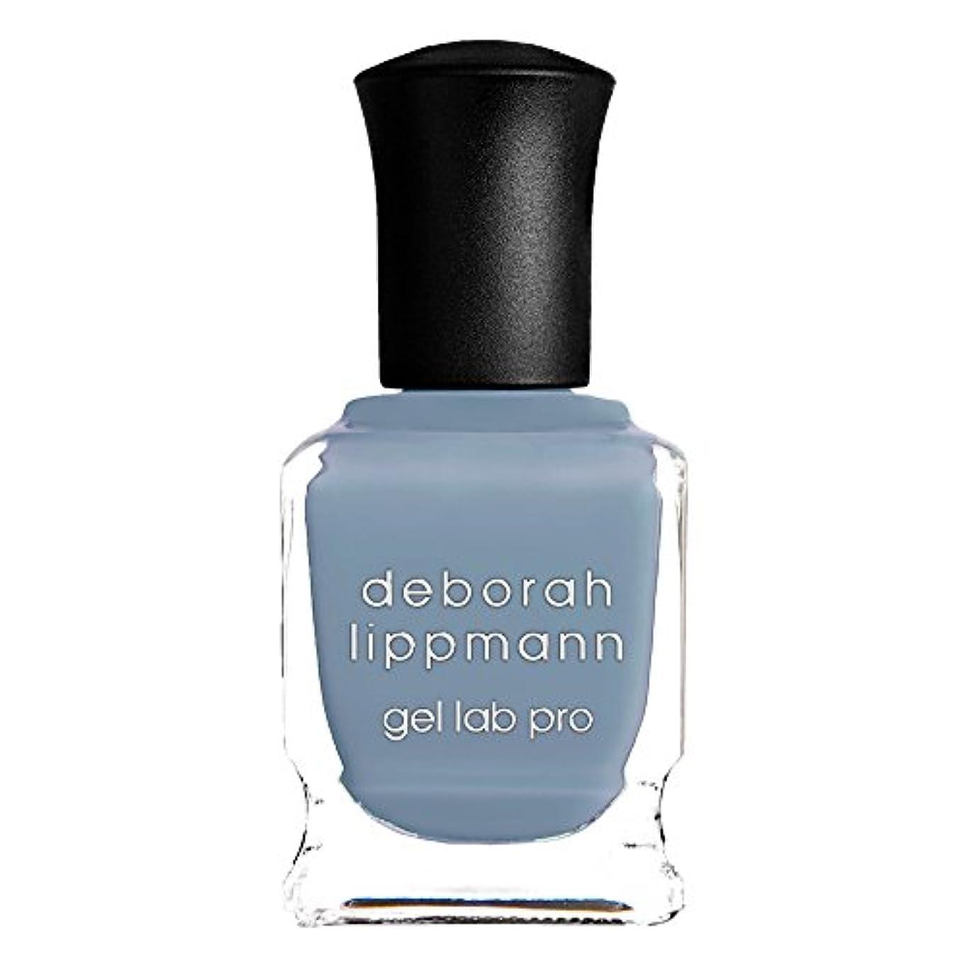 下に向けます太陽致命的[Deborah Lippmann] デボラリップマン ジェルラボプロ シー オブ ラブ SEA OF LOVE ブルー系 15mL