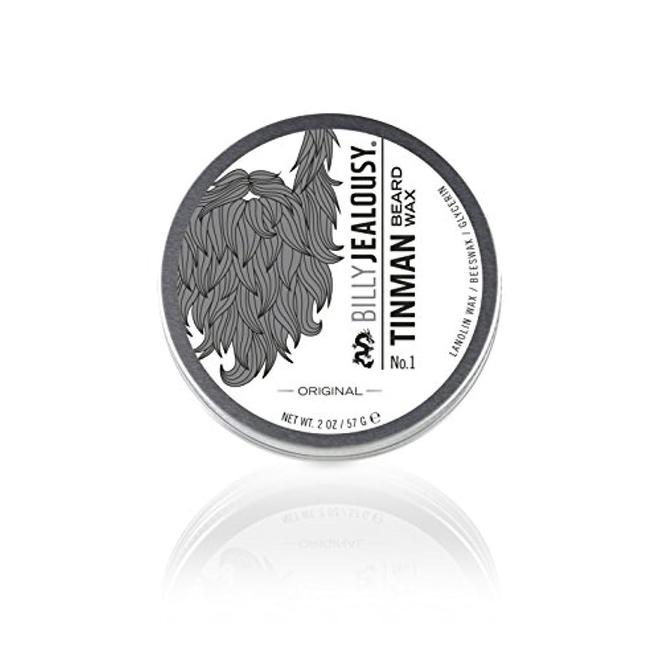 情熱的世辞旅ビリージェラシー Tin Man No. 1 Beard Wax 57g/2oz並行輸入品