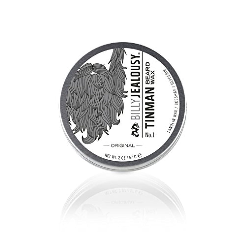 タンクプーノマインドビリージェラシー Tin Man No. 1 Beard Wax 57g/2oz並行輸入品