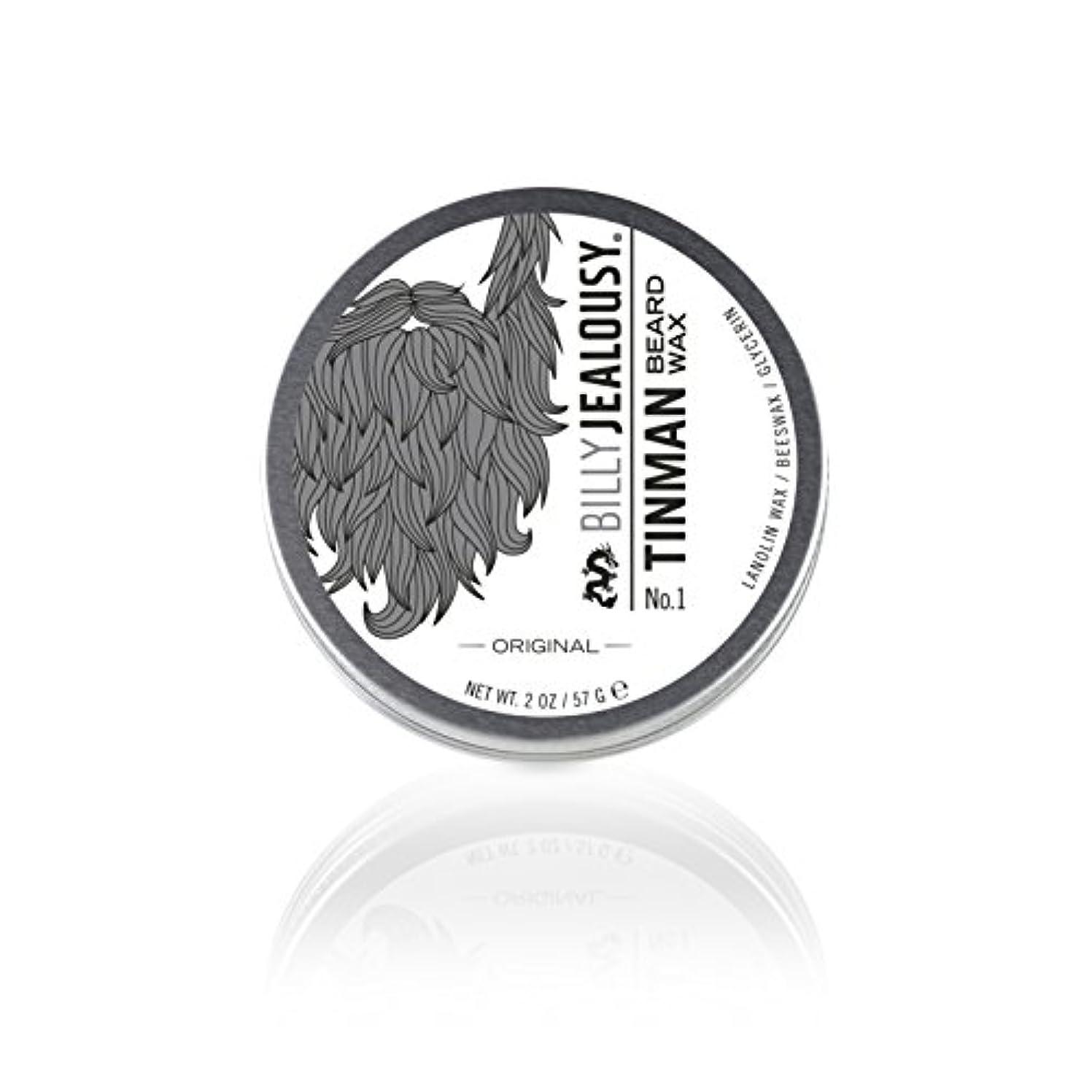 ビリージェラシー Tin Man No. 1 Beard Wax 57g/2oz並行輸入品