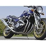 オーヴァーレーシング(OVER RACING) フルエキゾーストマフラー セスミック3 SAL ステンアルミマフラー XJR1300(00-06) 02-26-00