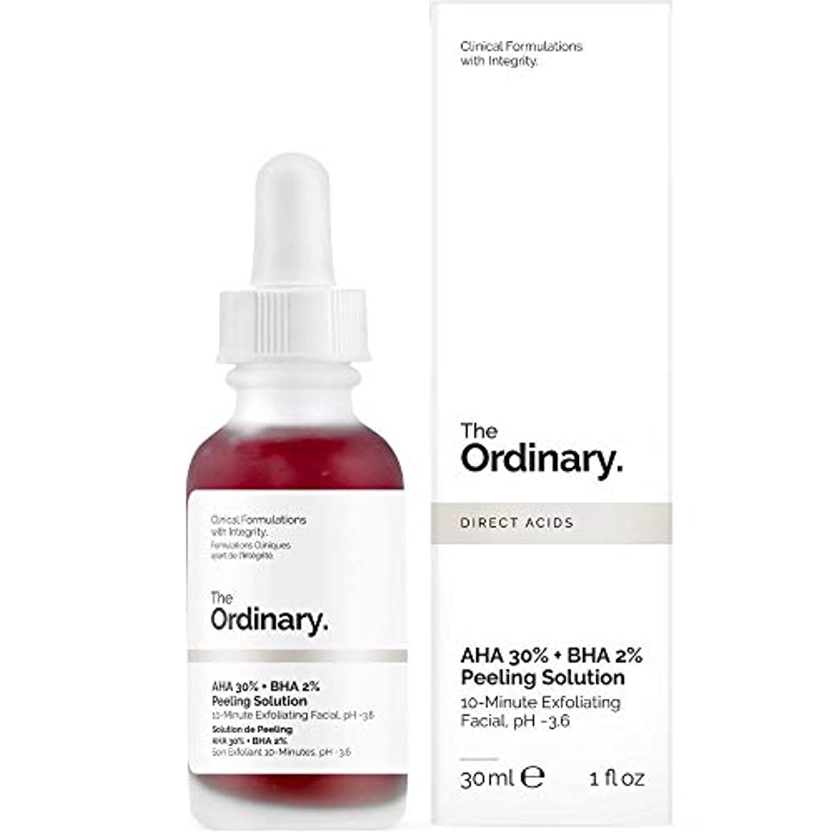 望み免疫相手The Ordinary AHA 30% + BHA 2% Peeling Solution 30ml