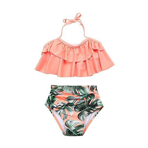 幸運な太陽ファッション2本の幼児の赤ちゃんの女の子のフリルの...