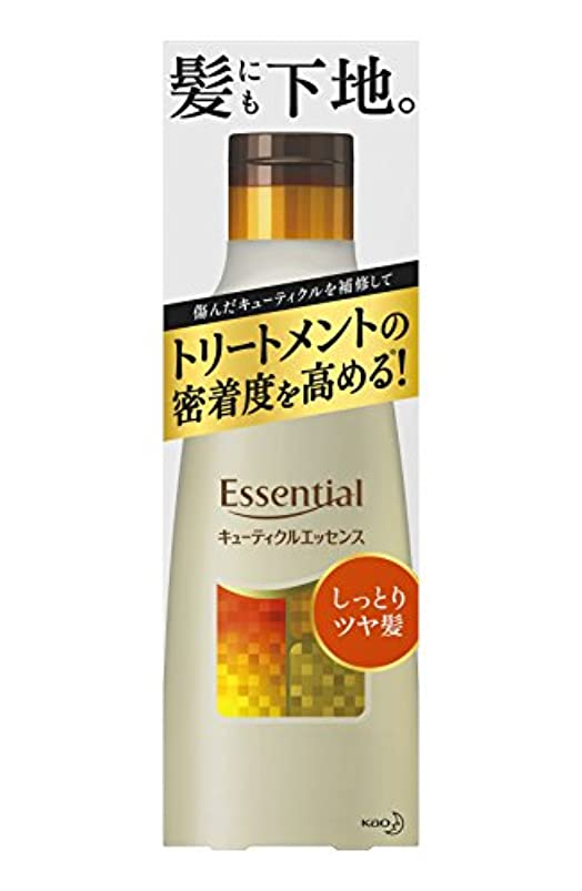 商品良さラバエッセンシャル しっとりツヤ髪 キューティクルエッセンス 250g (インバス用)