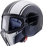 Caberg カバーグ Ghost Legend Helmet 2017モデル ヘルメット マットブラック/ホワイト M(57~58cm)