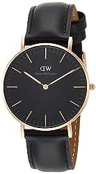[ダニエル・ウェリントン]DanielWellington 腕時計 Classic Black Sheffield ブラック文字盤 DW00100139  【並行輸入品】