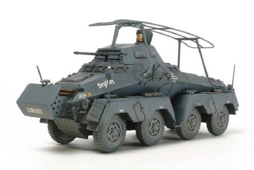 タミヤ 1/48 ミリタリーミニチュアシリーズ No.74 ドイツ陸軍 8輪装甲車 Sd.Kfz.232 プラモデル 32574
