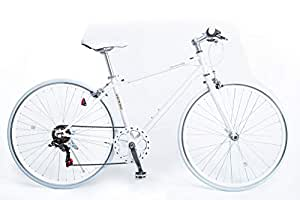 21Technology クロスバイク 6段変速 700×28C [CL266] ホワイト