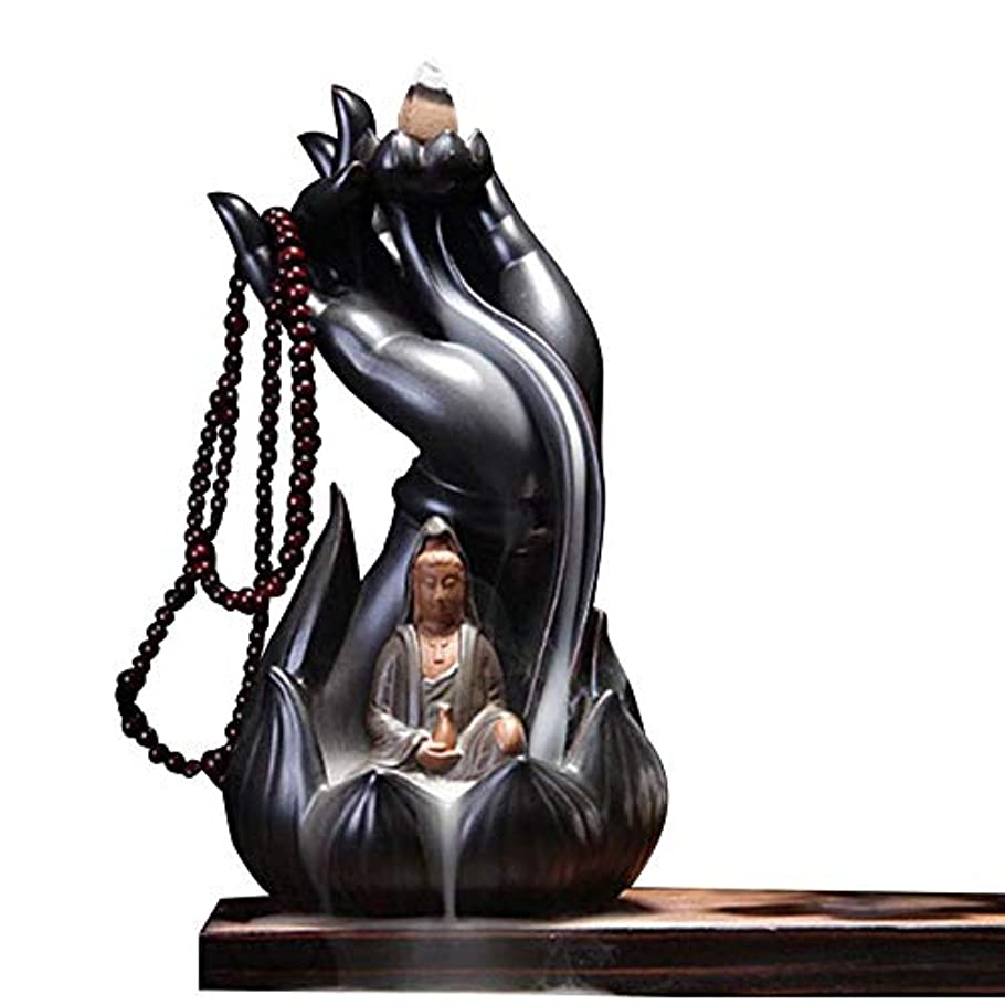 可決予想外転送Getupp 陶器 倒流香 香炉 線香立て 流川香 お香用具 お線香 渦巻き線香 アロマ 香熏香炉 逆流 癒し香炉 仏壇用香炉 自然の雰囲気 ヨガ 瞑想 庭園用 (スタイルb)