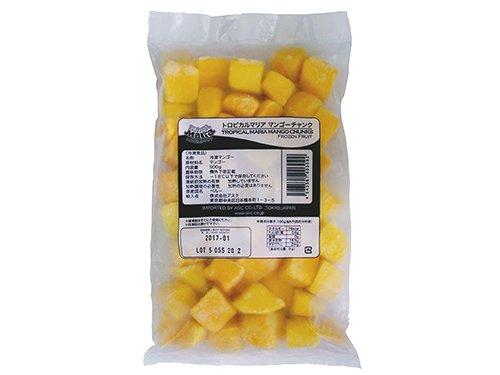 [冷凍] TOMIZ(富澤商店) 冷凍マンゴー(チャンク) / 500g