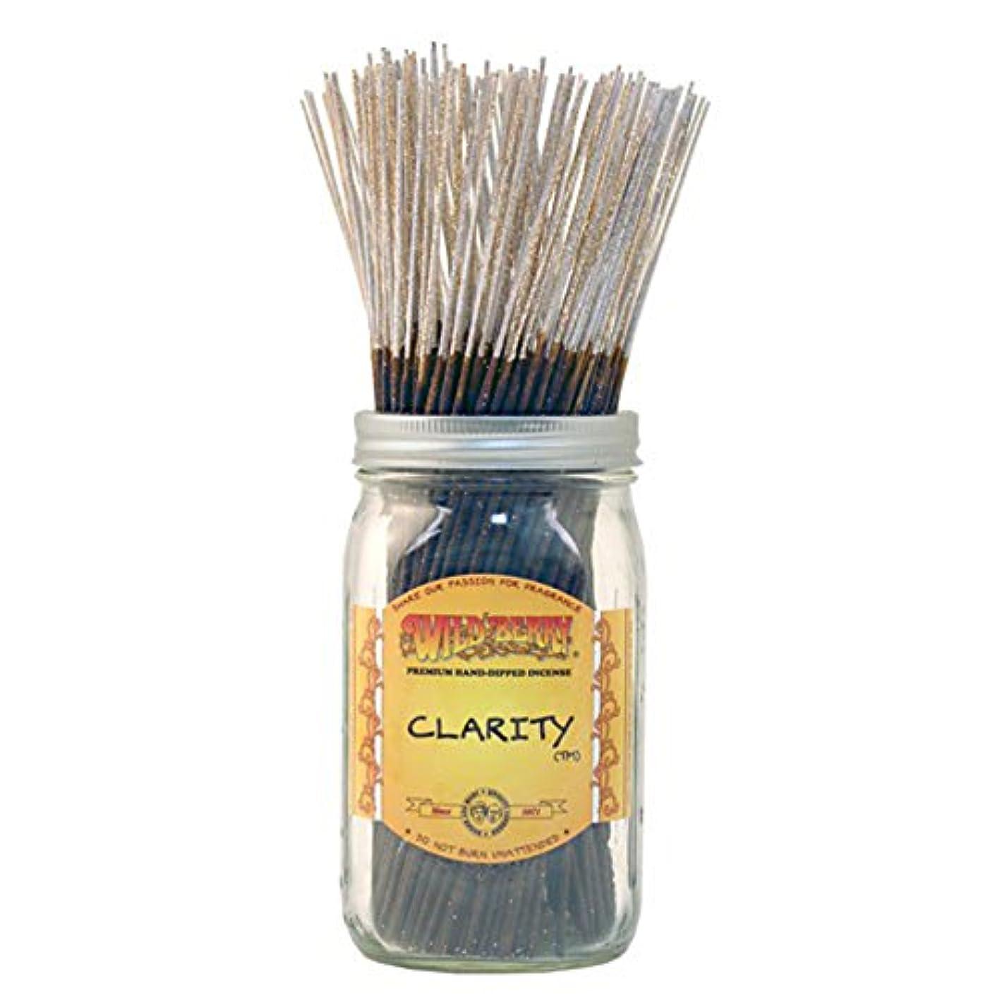 名前祖父母を訪問だますWild Berryクラリティ、Highly Fragranced Incense Sticksバルクパック、100ピース、11インチ