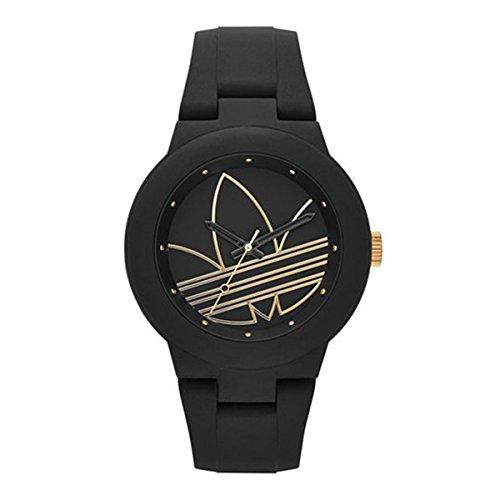 アディダス ADIDAS アバディーン クオーツ ユニセックス 腕時計 ADH3013 ブラック [並行輸入品]