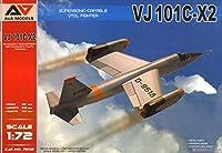 A&A MODELS MODELSVIT(モデルズビット) 1/72 西ドイツ VJ101C-X2 超音速垂直離着陸試作戦闘機