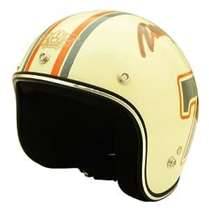 ダムトラックス(DAMMTRAX) バイクヘルメット ジェット ポポセブンIV キッズサイズ(54cm~57cm未満)