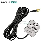 28dB 3M LNA Gain 1575.42MHz SMA Male Car GPS Antenna GPS Receiver GPS Active Remote Antenna Aerial Adapter Connector