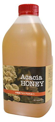 はちみつ 専門店【かの蜂】 厳選 中国産 アカシア 蜂蜜 2500g(2.5kg) 純粋 蜂蜜 (お徳用ビックボトル)