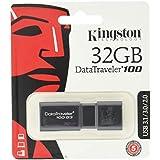 キングストン Kingston USBメモリ 32GB USB3.0 DataTraveler 100 G3 DT100G3/32GB 5年保証