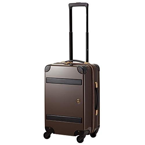 (プラスワン)PLUS ONE スーツケース PEACE×Passenger 8170-49 49cm チョコブラック