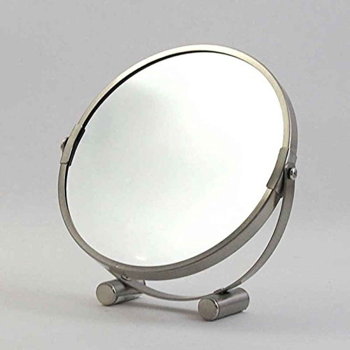 良性くしゃみ効率的卓上ミラー ダルトン ROUND MIRROR ラウンド ミラー A655-723 丸型 両面鏡 拡大鏡付