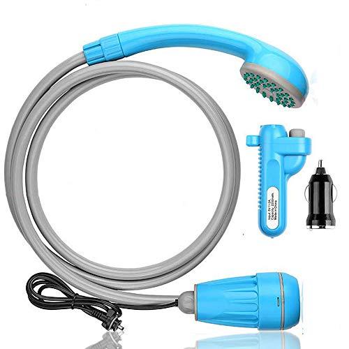 ポータブルシャワー innhom アウトドアシャワー 2つの起動方法 USB充電式 キャンプ 釣り 海水浴 サーフィン...