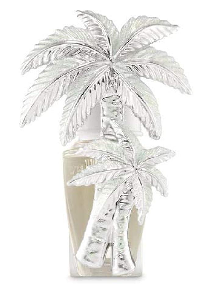鉛キャンベラ欠かせない【Bath&Body Works/バス&ボディワークス】 ルームフレグランス プラグインスターター (本体のみ) グリッターパームツリー Wallflowers Fragrance Plug Glittery Palm...