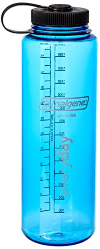 nalgene(ナルゲン) カラーボトル 広口1.5L トライタンボトル スレートブルー 91319