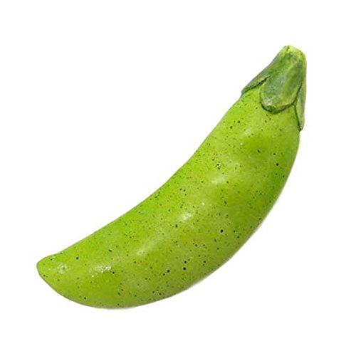 食品サンプルマスコットチャーム 野菜 (えんどう豆:本体のみ)