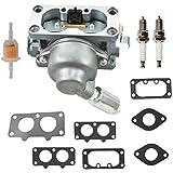 Carburetor for Briggs&Stratton 20HP 21HP 23HP 24HP 25HP intek V-Twin Engine Carb 40G777 40H777 446777 44677A 407677 40F777 40