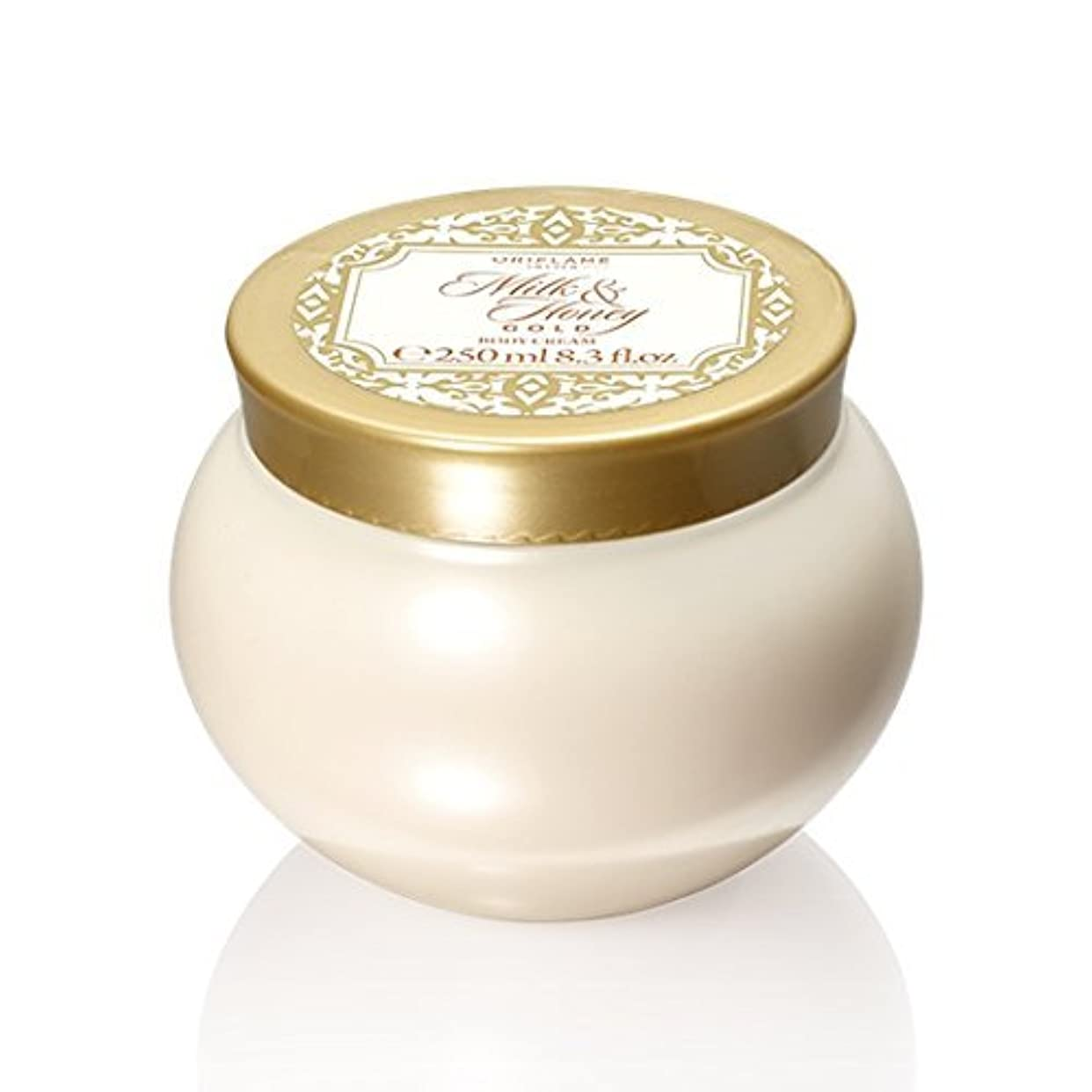 未亡人失態スピーカーMilk and Honey Gold Body Cream by Oriflame