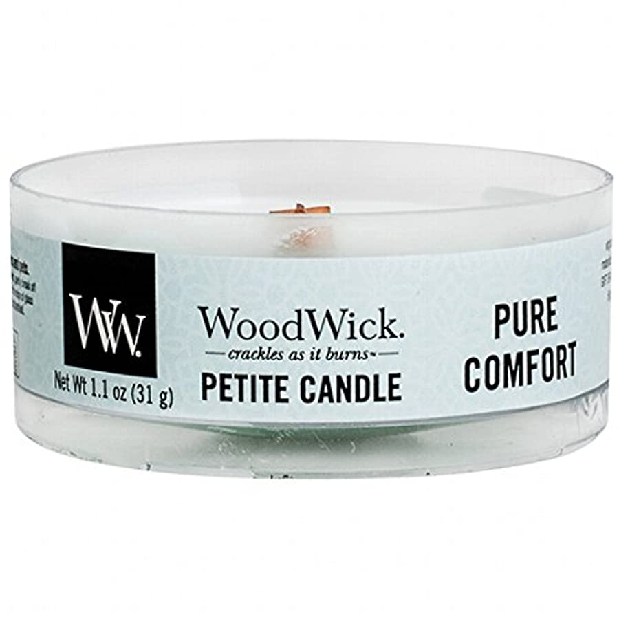 WoodWick(ウッドウィック) プチキャンドル 「 ピュアコンフォート 」(WW9030527)