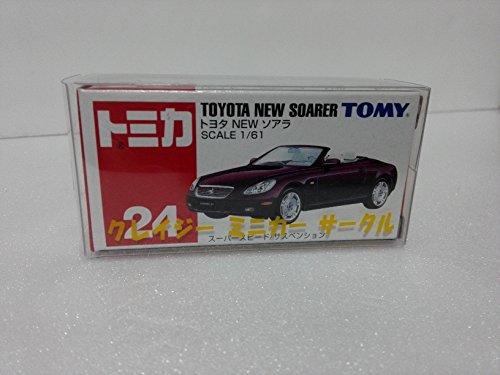 絶版トミカ ��24 トヨタ NEW ソアラ クレイジーミニカーサークル ケース付 アマゾン倉庫発送