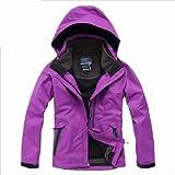 mont-bell レディース Eamkevc 登山用 インナー付レディースジャケット  紫 a1509