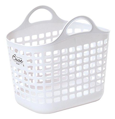 サンコープラスチック 日本製 ランドリーバスケット ビート バスケット No...
