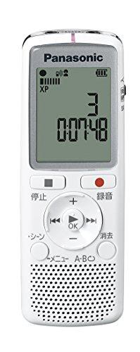 パナソニック ICレコーダー 2GB ホワイト  RR-QR2...