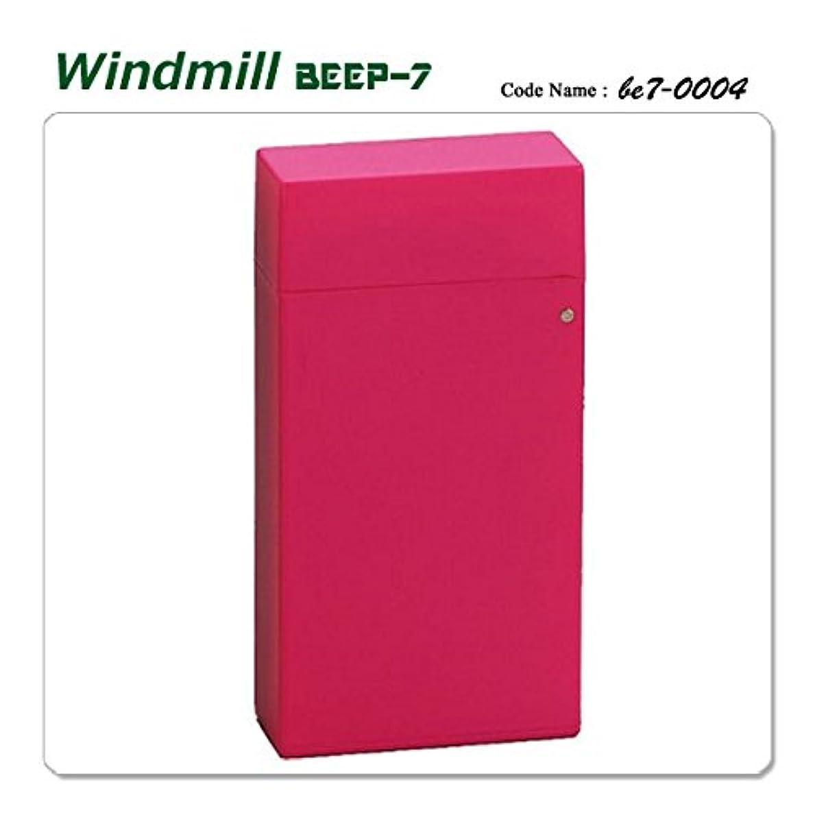 起きて残忍な不規則性Windmill ウインドミル 内燃式ターボライター ガスライター BEEP7 0004 ビープ7 ピンク be7-0004