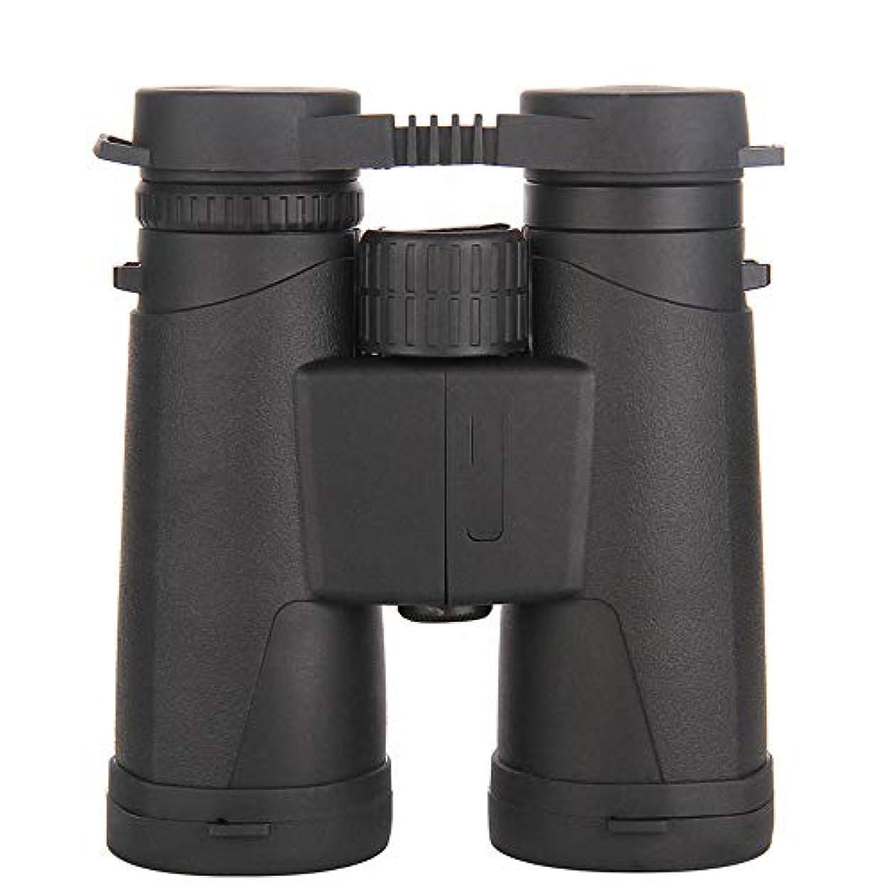 怒って大きさフェミニン双眼鏡、10×42望遠鏡ハイパワー双眼鏡HD BAK4スパイグラスナイトビジョン望遠鏡狩猟用具、コンサート、旅行のために適した