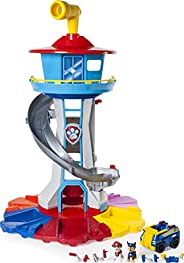 Nickelodeon - Paw Patrol – My Size Lookout Tower with Exclusive Vehicle, Rotating Periscope and Lights and Sou