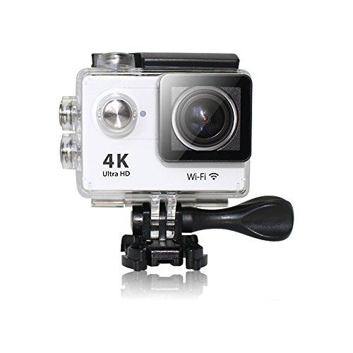 【4K 動画】【広角170度】 MARSHAL製 防水 ハイエンド 4K スポーツカメラ WiFi リンク機能 HDMI出力搭載 アクションカム MAL-FW 【19種類の附属品付き】 動画解像度 最大3840×2160(25fps)