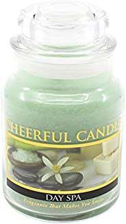 A Cheerful Giver 6oz Day Spa Cheerful Jar Candle
