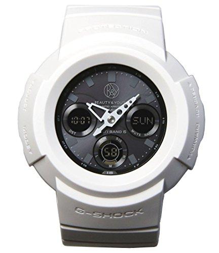 [カシオ]CASIO 腕時計 G-SHOCK 【別注】UNITED ARROWS LTD. 創業25周年記念 ビューティー&ユース(BEAUTY&YOUTH)モデル 世界6局電波対応ソーラーウオッチ AWG-M510BY-7AJR メンズ