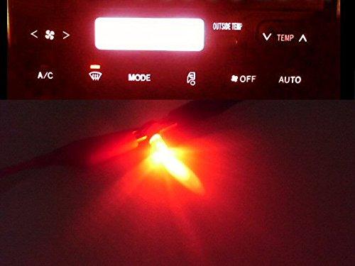 24V トラック/日野HINO/グランドプロフィア・エアコンパネル照明用LEDセット/赤色レッド