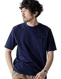 [ナノユニバース] Anti Soaked ヘビー クルーネック ビッグ Tシャツ メンズ