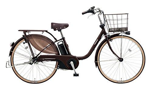 Panasonic(パナソニック) 2018年モデル ビビスタイル 26インチ カラー:ビターブラウン BE-ELDS634-T 電動アシスト自転車 専用充電器付