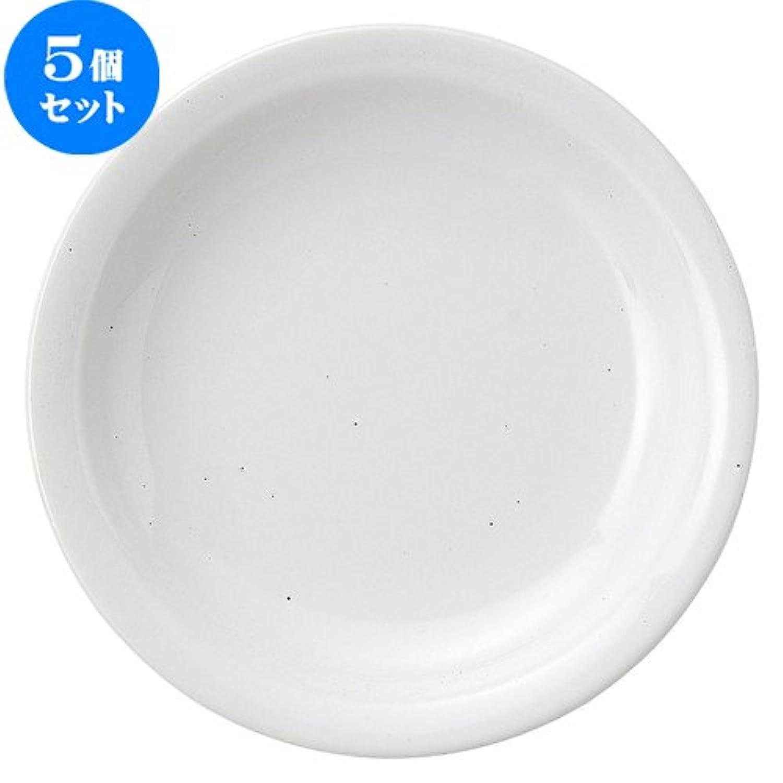 5個セット ギャラクシー モアミルク 19cm ケーキ皿 [ D 19.2 x H 3cm ] 【 デザートプレート 】 【 飲食店 レストラン ホテル カフェ 洋食器 業務用 】