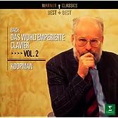 バッハ:平均律クラヴィーア曲集第2巻