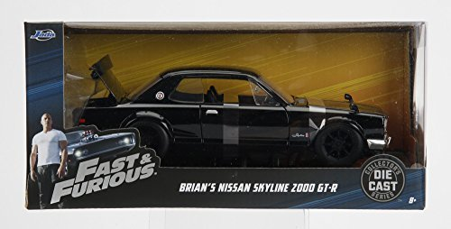 JADATOYS 99686【1/24スケール 映画ワイルドスピード ブライアン 日産 GTR / ...