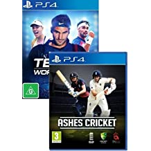 Tennis World Tour & Ashes Cricket PS4 Bundle