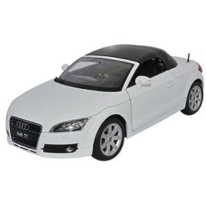 WELLY 1/18 AUDI TT(ホワイト),アウディーミニカー,ダイキャストカー,ダイキャスト完成品,ダイキャスト模型 ミニカー,ミニチュアカー(WE016210WH)