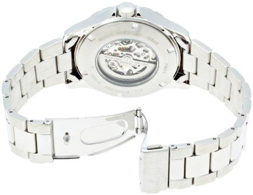 [フルボデザイン]Furbo Design 腕時計 自動巻き 両面スケルトン ステンレススチール シルバー メンズ F5021SISS メンズ