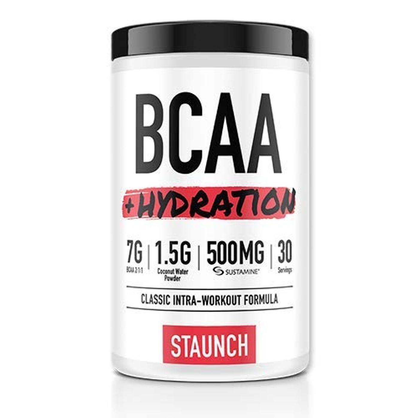 ブロッサム石炭コードレスStaunch BCAA + ハイドレーション、30食分、ピーチマンゴー味